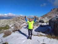 Χρόνια πολλά από τη χιονισμένη Μουγγίλα του Ερυμάνθου στα 1850 μέτρα υψόμετρο!