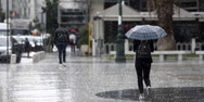 Ραγδαία επιδείνωση του καιρού στη Δυτική Ελλάδα με ισχυρές βροχές και καταιγίδες