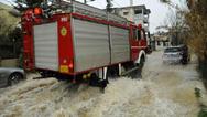 Κακοκαιρία: 169 κλήσεις στην πυροσβεστική για βοήθεια σε Αττική και Κεντρική Μακεδονία