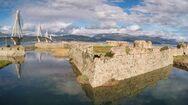 Πάτρα: Εργασίες στερέωσης και αποκατάστασης στο Φρούριο του Ρίου
