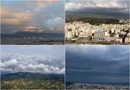 Όταν τα σύννεφα 'χορεύουν' πάνω από την Πάτρα (video)