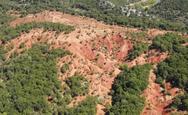 Κοκκινοπηλός: Το απόκοσμο κόκκινο τοπίο που θυμίζει Άρη (video)