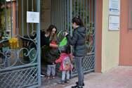 Ο Δήμαρχος Πατρέων Κ. Πελετίδης υποδέχτηκε τα μικρά παιδιά στο Δημοτικό Βρεφοκομείο (φωτο)