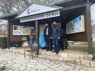 Στα Καλάβρυτα ο Αντιπεριφερειάρχης Χ. Μπονάνος για την διαχείριση των κρουσμάτων κορωνοϊού στο «Καλλιμανοπούλειο»