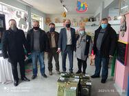 Πάτρα: Aντιπροσωπεία του Αγροτικού Συλλόγου Ελαιοπαραγωγών Αιτωλικού επισκέφθηκε το 'Φωτεινό Αστέρι'