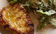 Χοιρινές μπριζόλες με γλάσο μουστάρδας
