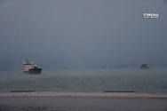 Η κακοκαιρία 'Λέανδρος' προκάλεσε στην Αργολίδα το φαινόμενο της 'θάλασσας που αχνίζει' (video)