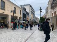 Lockout - Αυξημένη κίνηση στο κέντρο της Πάτρας όλες τις ώρες μέχρι τις 9 το βράδυ