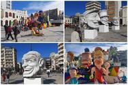 'Άρωμα' Καρναβαλιού φέρνουν οι μπάστακες στην Πλατεία Γεωργίου - Δείτε φωτογραφίες