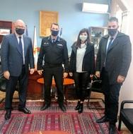 Πάτρα: Συνάντηση της Α. Χαλιμούδρα με τον Περιφερειακό Διοικητή Π.Υ. Δυτικής Ελλάδας