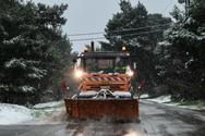 Η κακοκαιρία «Λέανδρος» ανέβασε έως το 30% τη χιονοκάλυψη της χώρας