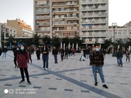 Πάτρα: Δεκάδες φοιτητές ένωσαν τις φωνές τους στο συλλαλητήριο της Πέμπτης (φωτο)