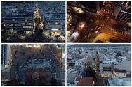 Αθήνα - Ερμού: Η κάθοδος των Μυρίων λίγο πριν την επιβολή του τρίτου lockdown (video)