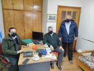 Συναντήσεις του Θεόδωρου Βασιλόπουλου στην Κλειτορία για αγροκτηνοτροφικά και εγγειοβελτιωτικά έργα