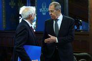 Στον «πάγο» οι σχέσεις ΕΕ-Ρωσίας - «Μη αξιόπιστος εταίρος η ΕΕ», λέει ο Λαβρόφ