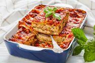 Μαγειρέψτε ογκρατέν λαζάνια με μανιτάρια και μπεσαμέλ