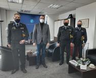 Στον Περιφερειάρχη Νεκτάριο Φαρμάκη η νέα ηγεσία ΠυροσβεστικώνΥπηρεσιών Δυτικής Ελλάδας