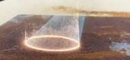 Εντυπωσιακό βίντεο δείχνει την αφαίρεση σκουριάς με λέιζερ
