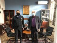 Συνάντηση Δημάρχου Δυτικής Αχαΐας με τον περιφερειακό διοικητή Δυτικής Ελλάδας του Πυροσβεστικού Σώματος