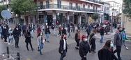 Πάτρα: Φοιτητές πραγματοποίησαν νέο συλλαλητήριο στο κέντρο (φωτο)