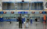 «Βουτιά» 83% στην επιβατική κίνηση στα ελληνικά αεροδρόμια