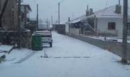 H κακοκαιρία 'Μήδεια' έφερε χιόνια στη Μακεδονία, τη Θράκη και τη Θεσσαλία (video)