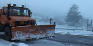 Έκτακτο δελτίο καιρού της ΕΜΥ: Θα ενταθούν το απόγευμα οι χιονοπτώσεις στην Αττική