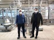 Ο Αντιπεριφερειάρχης Αγροτικής Ανάπτυξης Θ. Βασιλόπουλος σε επιχειρήσεις του αγροδιατροφικού τομέα στην Αχαΐα
