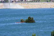 Λίμνη Αστερίου: Το εκκλησάκι χάθηκε - Θα το δούμε ξανά το καλοκαίρι;