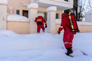 Συμμετοχή του Ε.Ε.Σ. σε απεγκλωβισμούς κατοίκων λόγω της σφοδρής χιονόπτωσης