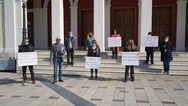 Πάτρα: Έγινε η συμβολική στάση διαμαρτυρίας των ξεναγών