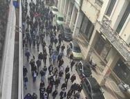 Πορεία των φοιτητών στο κέντρο της Πάτρας - Πάνω από 700 άτομα