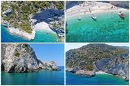 X-Beach: Η παραλία με το μυστηριώδες όνομα που μοιάζει να 'απέδρασε' από το Ιόνιο, κοντά στην Αθήνα (video)