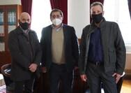 Συνάντηση του Προέδρου Ιατρικής Εταιρείας Δυτικής Ελλάδος και Πελοποννήσου με τον Δήμαρχο Πατρέων