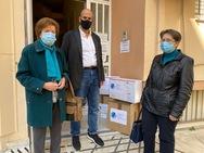 Πάτρα: Η Περιφέρεια παρέδωσε υγειονομικό υλικό στην «Κιβωτό της Αγάπης»
