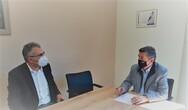 Συνάντηση Αλεξόπουλου-Μπαρή στα γραφεία του ΣΥ.ΔΙ.Σ.Α.
