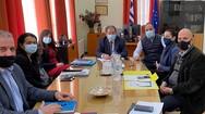 Συνάντηση εργασίας της Δημοτικής Αρχής Αιγιάλειας με τον Αντιπεριφερειάρχη Χαράλαμπο Μπονάνο