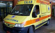 Τροχαίο στην Πάτρα: Δικυκλιστής 'καρφώθηκε' σε παρμπρίζ αυτοκινήτου