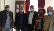 Πάτρα: Ο Κώστας Πελετίδης συναντήθηκε με το σωματείο εργαζομένων του ΠΓΝΠ