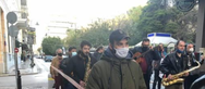 Το Σωματείο Επαγγελματιών Μουσικών Δυτικής Ελλάδας πραγματοποίησε διαμαρτυρία στο κέντρο της Πάτρας