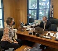 Αλεξοπούλου - Καραμανλής: Είπαμε πως θα γίνει η Πατρών - Πύργου και τηρούμε τη δέσμευση
