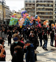 Πάτρα: Συλλαλητήριο κατά της αστυνομικής βίας στην πλ. Γεωργίου