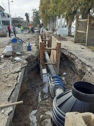 Πάτρα: «Το αντλιοστάσιο πρέπει να γίνει εκεί για να προχωρήσει το έργο της αποχέτευσης»