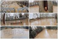 Ο Ληθαίος ποταμός υπερχείλισε και το αποτέλεσμα είναι άκρως εντυπωσιακό (video)