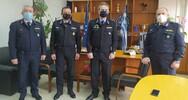 Εθιμοτυπικές επισκέψεις στη Γενική Περιφερειακή Αστυνομική Διεύθυνση Δυτικής Ελλάδας