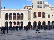 Πάτρα: Σε εξέλιξη το συλλαλητήριο της Ε.Ι.Ν.Α στην πλατεία Γεωργίου (φωτο)