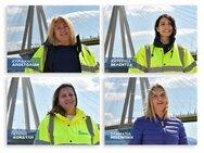Τέσσερις γυναίκες ύψωσαν την γαλανόλευκη στη Γέφυρα του Ρίου- Αντιρρίου (βίντεο)