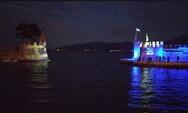 Στα γαλανόλευκα το λιμάνι της Ναυπάκτου (φωτο)