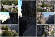 Μονοδένδρι - Αγία Παρασκευή: Το πιο επικίνδυνο μονοπάτι της Ελλάδας από ψηλά (video)
