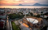 Πάτρα - Το Ρωμαϊκό Ωδείο στο σκοτάδι για χάρη της διεθνούς εκστρατείας 'Ώρα της Γης 2021'